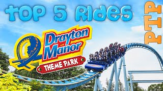Best Rides At Drayton Manor Theme Park
