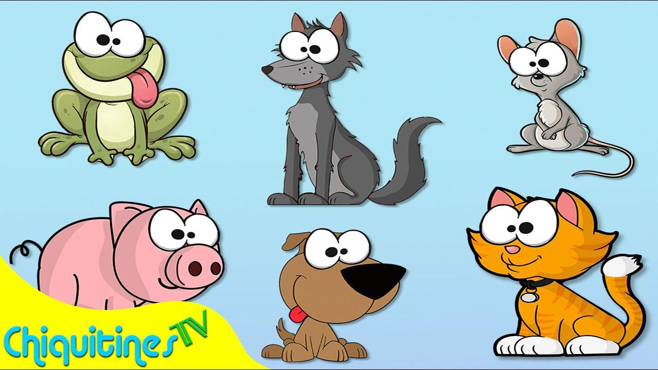 El sonido de los animales canci n infantil aprende los - Fotos de animales infantiles ...