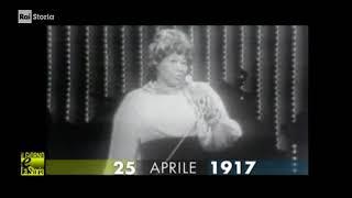 §.1/- (anniversari nascita 1917) ** 25 aprile ** Newport News: Ella Fitzgerald, cantante jazz