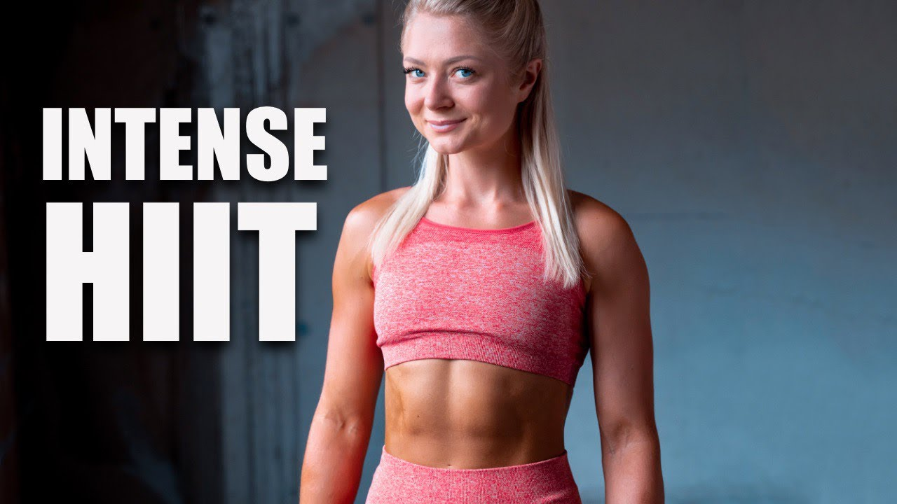 20 MIN INTENSE HIIT - FULL BODY | CROSSFIT® INSPIRED HOME WORKOUT | + DUMBBELLS