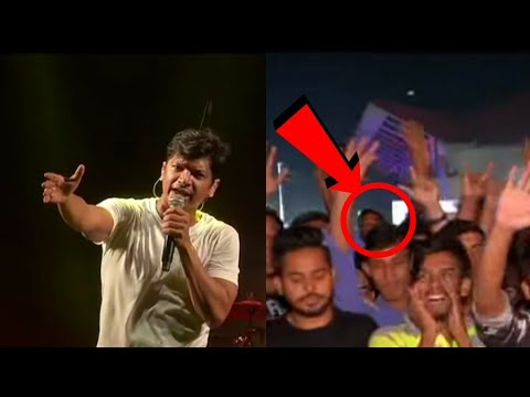 Shaan Attacked on Stage for Singing Bengali Song During Assam Concert
