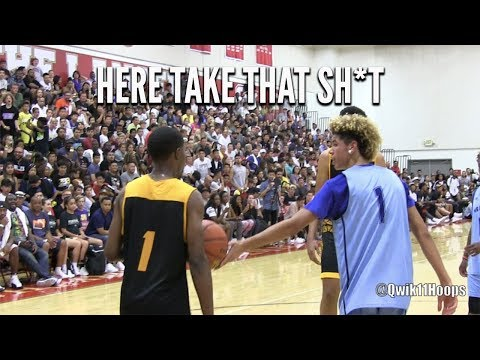 LaMelo Ball Gets Fed UP Isn't Taking Any Sh*t From Opponents