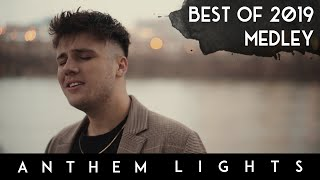 """Official anthem lights best of 2019 medley including """"sunflower"""" by post malone and swae lee, """"i don't care"""" ed sheeran, """"thank u, next"""" ariana grande,..."""