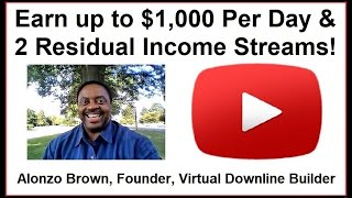 Earn up to $1,000 per Day Residual Income