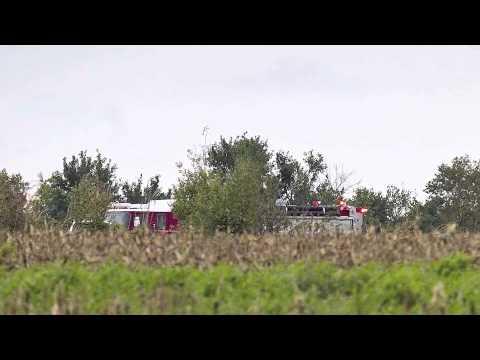 No survivors in airplane crash southeast of Derby