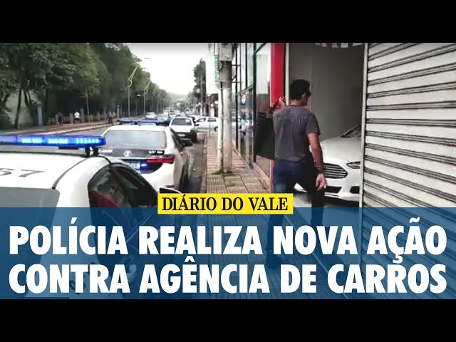 Polícia Civil realiza nova ação contra agência de carros em Volta Redonda