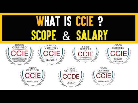 What Is CCIE ? | Scope And Salary In India | CCIE R&S Vs CCIE Security