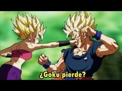 ¡IMÁGENES REVELADAS! DRAGON BALL SUPER 113 - Caulifla vs Goku ¿pierde Goku?