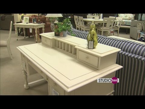 Studio 10: Paula Deen furniture at barrow fine furniture