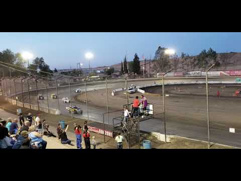 California Modlites at Bakersfield Speedway May 4 2019 heat race 1