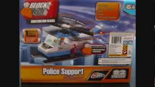 [HD] Building Grafix Block Tech (Lego knock-off) City Police Helicopter