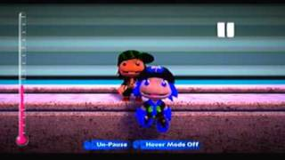 LBP2 - Glitched background + 4th Layer glitch = cool effect!