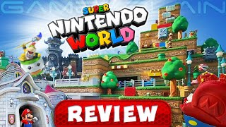 The Ultimate Super Nintendo World REVIEW | Mario Kart Ride, Yoshi's Adventure, Food, & More! (Video Game Video Review)