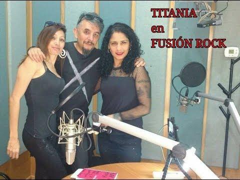 RUTH MILCA- TITANIA-JAVIER CORCOBADO (phoner) entrevista en FUSIÓN ROCK en RADIO MEXIQUENSE