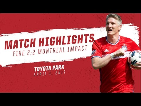 Match Highlights | Chicago Fire 2:2 Montreal Impact