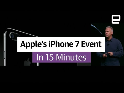 Apple's iPhone 7 Event in 15 minutes