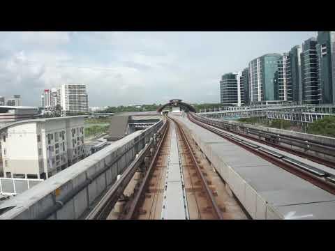 LRT KJ Line KJ24 Kelana Jaya - KJ37 Putra Heights Bombardier Innovia Metro 300 (Part 3)