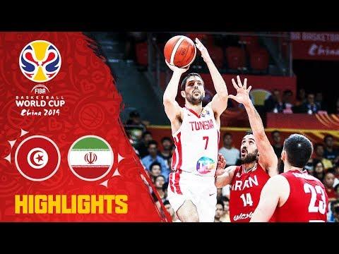 Tunisia v Iran - Highlights - FIBA Basketball World Cup 2019
