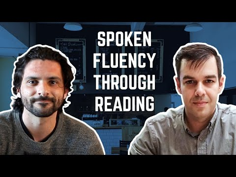 How To Develop Spoken Fluency Through Reading | Extensive Reading Conversation 1/4 With Jared Turner