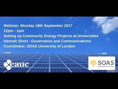 SOAS Solar Project