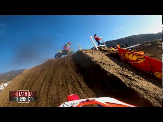 2020 Fox Raceway National - GoPro Christian Craig 450 Moto 2 Highlights