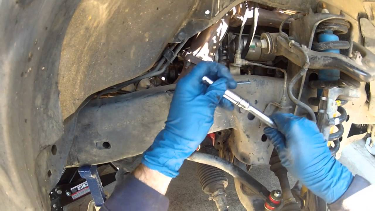 starter removal and solenoid repair [ 1280 x 720 Pixel ]