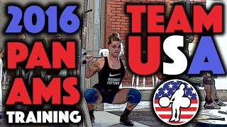 Team USA - 2016 Pan Ams Training Hall (June 7)
