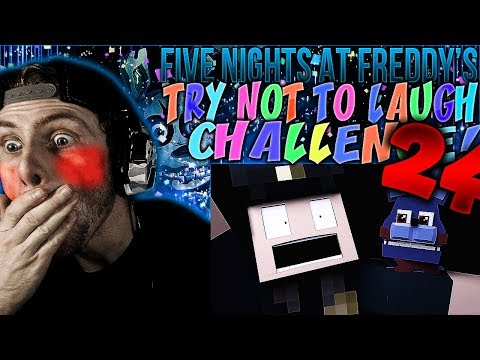 Vapor Reacts #550  FNAF FIVE NIGHTS AT FREDDYS SL TRY NOT TO LAUGH CHALLENGE REACTION #24