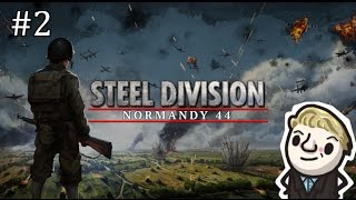 Steel Division: Normandy 44 Beta   Multiplayer battle #2