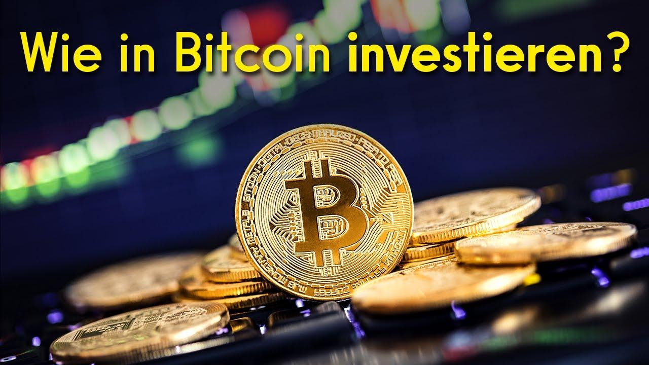 Wie DU in Bitcoin investieren kannst! (Anleitung)