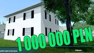 """ZNISCZYŁEM DOM ZA MILION ZŁOTYCH! - House Flipper """"PJOTER WAS POROBI 1 000 000 PLN"""" #11"""