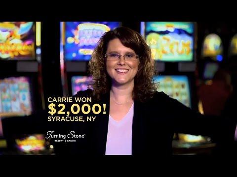 Jackpot Winners Everyday at Turning Stone Resort Casino