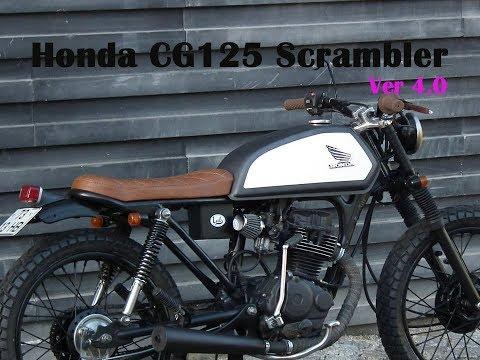 Xe Honda CG 125 độ Scrambler cực đẹp và chất - ver 4