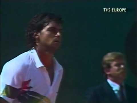 ATP 1989 Monte Carlo Final Becker vs Mancini Part1