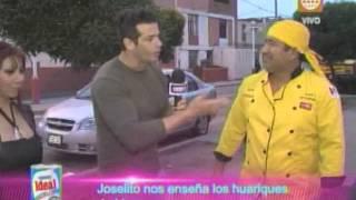 Al Aire- Joselito nos enseña huariques de comida en el Callao- 17/09/13