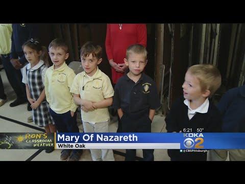 Classroom Weather: Mary Of Nazareth School