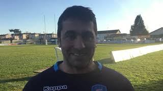 Nicolas Cabannes après la victoire contre Langon (42-17)
