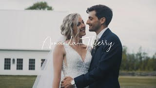 Amanda & Thierry | Wedding Film | Stonefields Estate, Carleton Place, ON