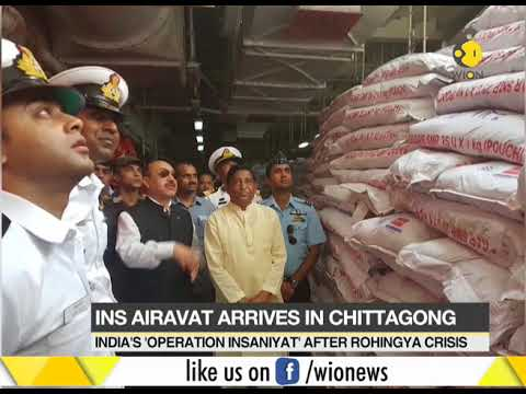 India dispatch second Rohingya relief in Bangladesh