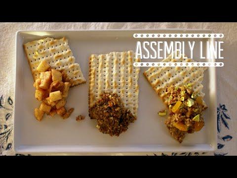 Charoset, 3 Ways | Assembly Line