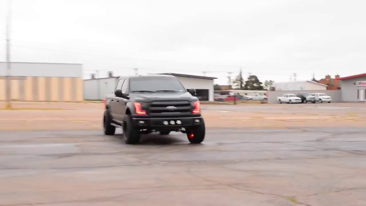 2016 F150 On A 3 Inch Lift Kit With 20 By 12 Fuel Wheels Goes For A