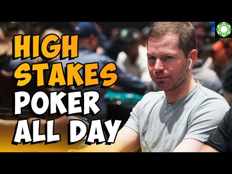 High Stakes Online Poker Tournaments ALL Day - Live Stream!