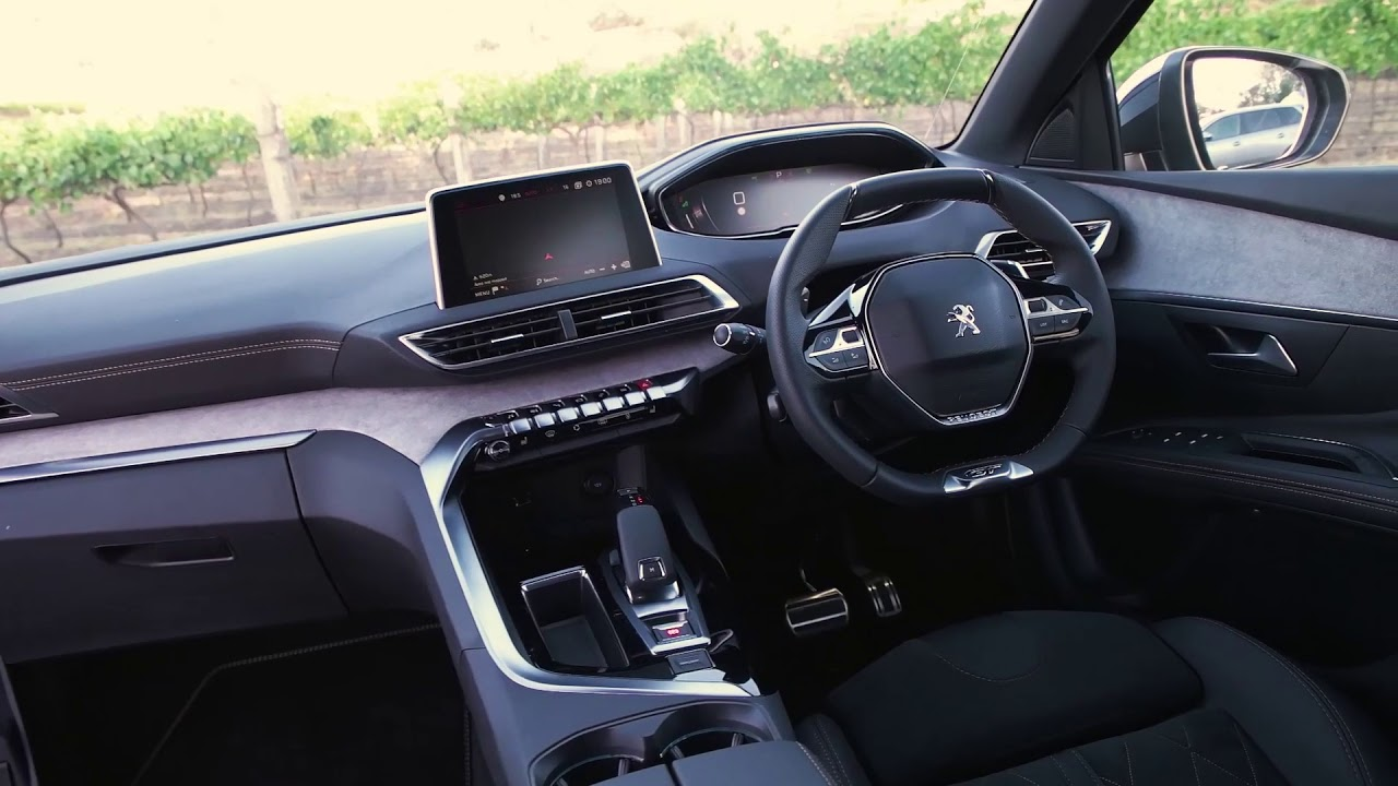 2018 peugeot 5008 australian launch with e kick scooter road test youtube. Black Bedroom Furniture Sets. Home Design Ideas