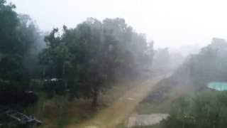 Ardèche mini tempète Vagnas