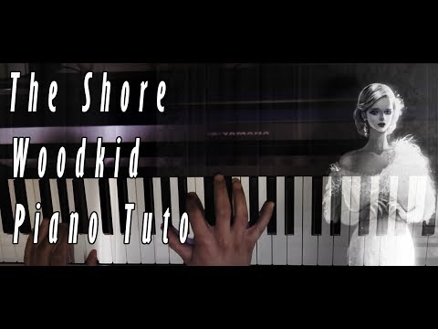 How to play : The Shore, Woodkid, Piano tutorial