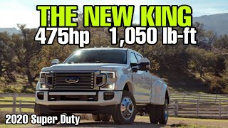 BREAKING NEWS! 2020 Ford Super Duty Powerstroke numbers!
