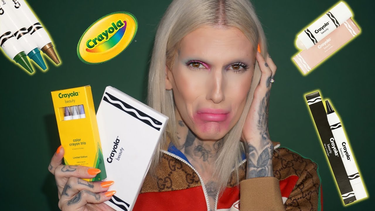 crayola makeup is it jeffree star approved youtube