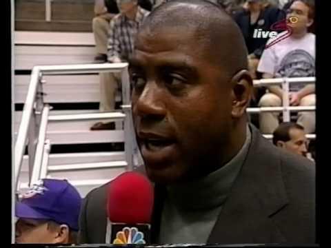 1998 NBA wcf game 1 Los Angeles Lakers-Utah Jazz