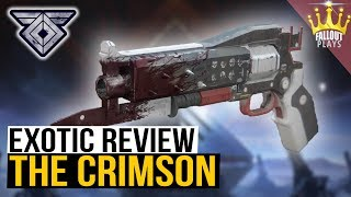 Destiny 2: Exotic Review, CRIMSON Hand Cannon (Warmind DLC)