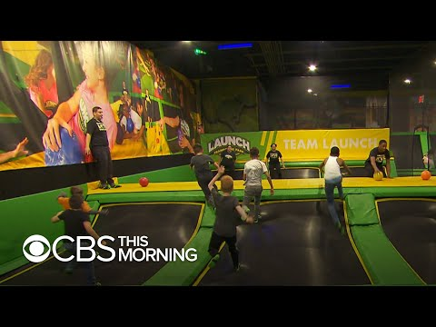 Rob and Hilary - Trampoline parks can cause serious damage